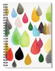 Rain Spiral Notebooks