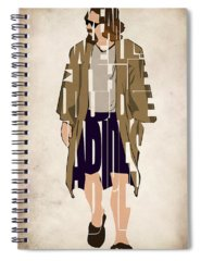 The Dude Spiral Notebooks