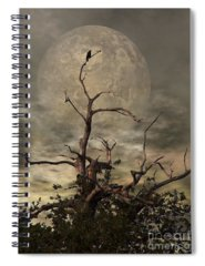 Background Digital Art Spiral Notebooks
