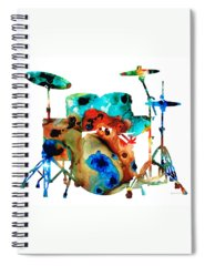 Cymbals Spiral Notebooks
