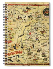 City Map Spiral Notebooks