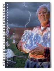 Electricity Photographs Spiral Notebooks