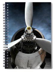 Airplane Spiral Notebooks