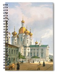 Onion Domes Photographs Spiral Notebooks