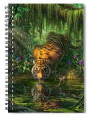Jungle Spiral Notebooks