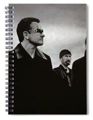 U2 Spiral Notebooks