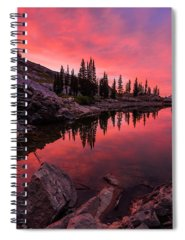 Basin Photographs Spiral Notebooks