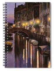 Twilight Spiral Notebooks