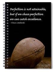 College Football Photographs Spiral Notebooks