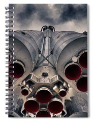 Rocket Spiral Notebooks