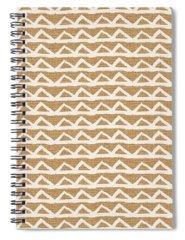 Pattern Mixed Media Spiral Notebooks