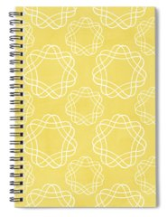 Yellow Mixed Media Spiral Notebooks