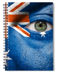 Worldcup Photographs Spiral Notebooks