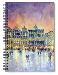 Streetscape Spiral Notebooks