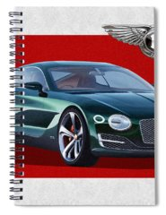 Bentley Motors Spiral Notebooks