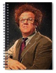 Mr. Cellophane Spiral Notebooks