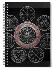 Holy Symbol Spiral Notebooks