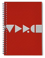 Abstract Nature Spiral Notebooks