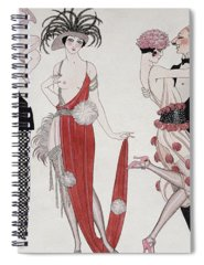 Tango Drawings Spiral Notebooks