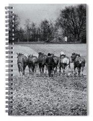 Rural Community Photographs Spiral Notebooks