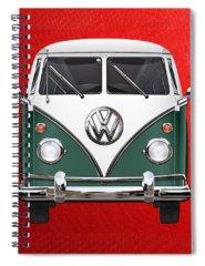 Green Spiral Notebooks