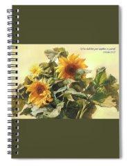 Plants Spiral Notebooks