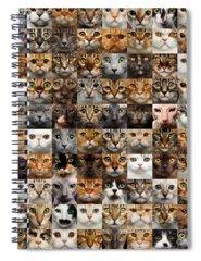 Face Spiral Notebooks