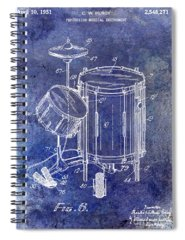 Drum Sticks Spiral Notebooks