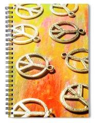 Pendant Photographs Spiral Notebooks