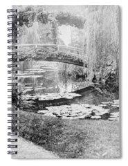Claude Monet Photographs Spiral Notebooks
