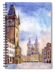 Old Town Spiral Notebooks