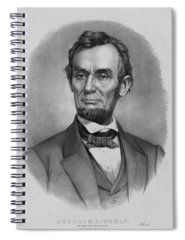 Abraham Lincoln Drawings Spiral Notebooks