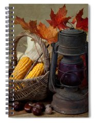 Corn Spiral Notebooks