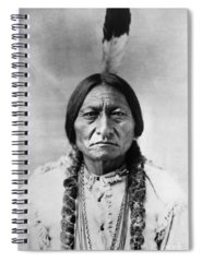 Indian Chief Spiral Notebooks