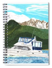 Bayliner Paintings Spiral Notebooks