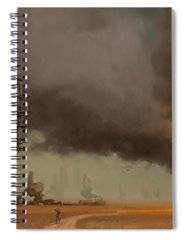 Steampunk Spiral Notebooks
