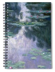 Water Lilly Spiral Notebooks