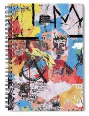 Basquiat Spiral Notebooks