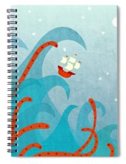 Ship Spiral Notebooks