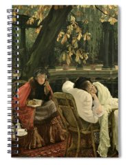 Unwell Paintings Spiral Notebooks