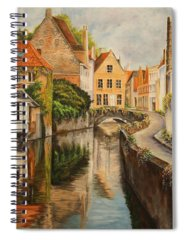 French Painter Spiral Notebooks