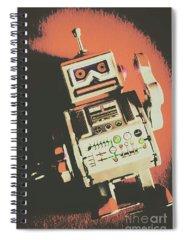 Drain Photographs Spiral Notebooks