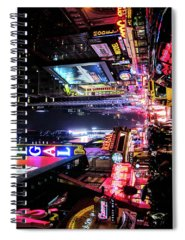 Night Time Photographs Spiral Notebooks