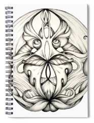 Organic Drawings Spiral Notebooks
