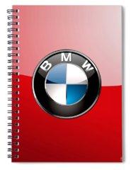 Car Spiral Notebooks
