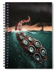 Giant Paintings Spiral Notebooks
