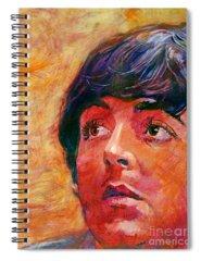 Paul Mccartney Spiral Notebooks