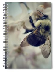 Nature Bee Spiral Notebooks
