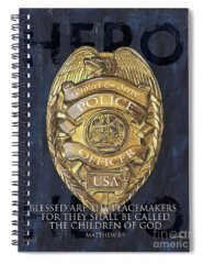 Police Spiral Notebooks