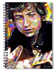 Bob Dylan Discography Spiral Notebooks